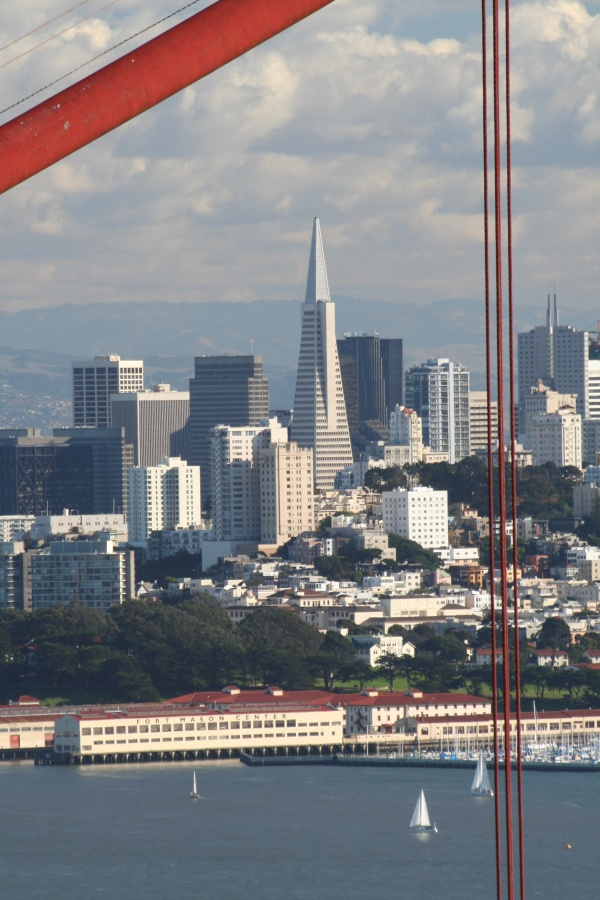 San Francisco downtown – Transamerica Pyramid